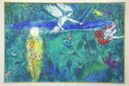 マルク ・ シャガール、マルク ・ シャガール美術館、ニース、フランスの絵画