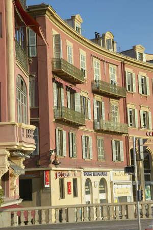 Balconies, Nice, France Editorial