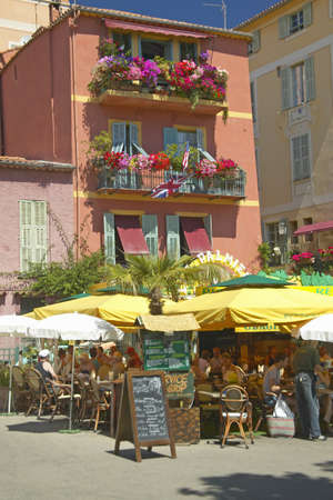 villefranche sur mer: The town of Villefranche sur Mer, French Riviera, France
