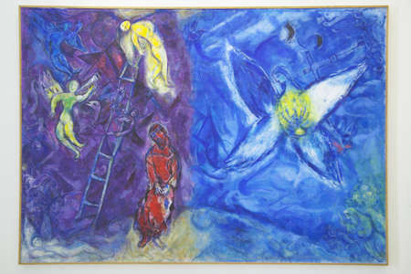 institutions: Painting by Marc Chagall, Marc Chagall Museum, Nice, France