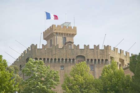 haut: Chateau Grimaldi, Haut de Cagnes, France