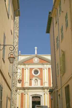 17th: 17th century cathedral, Antibes, France