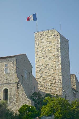 Antibes castle, from 17th century, Antibes, France Sajtókép
