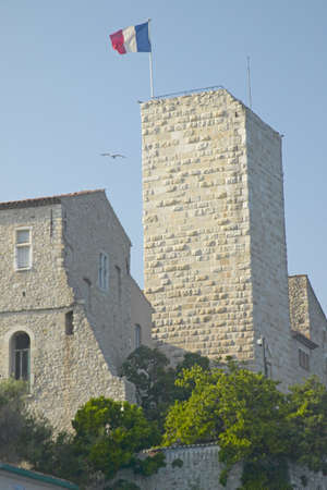 17th: Antibes castle, from 17th century, Antibes, France Editorial