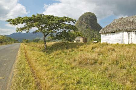 El Valle de Viales, en el centro de Cuba