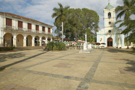 カトリック教会と中央キューバの小さな村