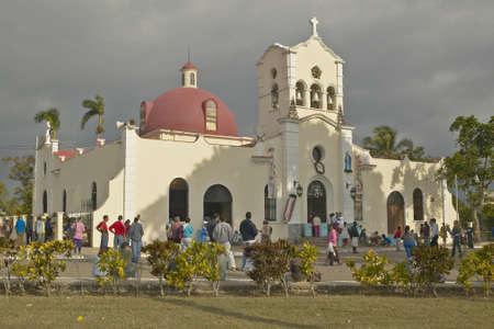 San Lazaro Catholic Church in El Rincon, Cuba