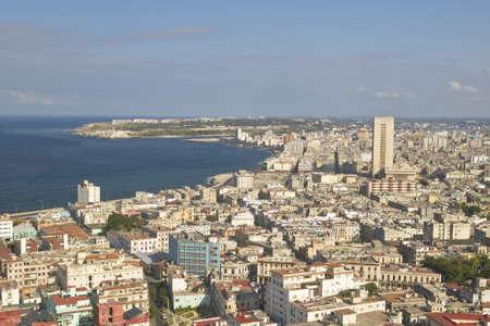 urban sprawl: Havana, Cuba