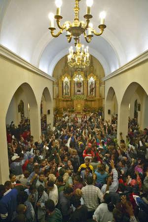 サン ラサロ カトリック教会、エル リンコン、キューバのインテリア
