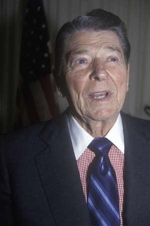 alger: Il presidente Reagan presenta un 'introduzione per il Horatio Alger Association