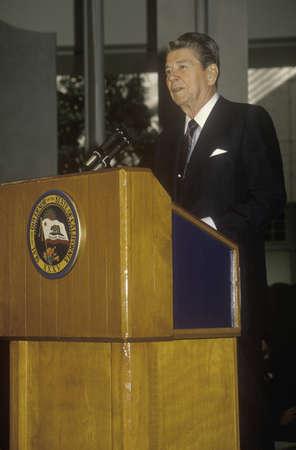 alger: Il presidente Reagan presenta un'introduzione per la Horatio Alger Association