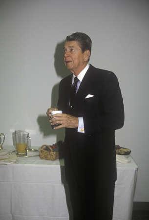 로널드 레이건 대통령, 커피 휴식 에디토리얼