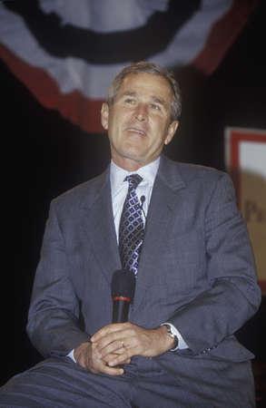 George W. Bush addressing the New Hampshire Presidential Candidates Youth Forum, January 2000 Publikacyjne