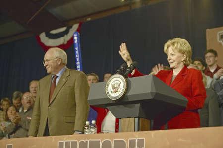 attended: Mitin de campa�a en Ohio asistieron candidato a la vicepresidencia Dick Cheney, 2004