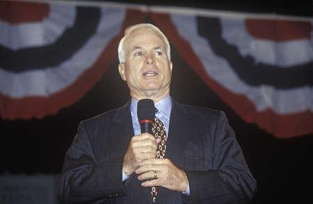 上院議員ジョン ・ マケイン Anselm の大学、ニューハンプシャー州で大統領青少年フォーラムで言えば、2000 年 1 月 報道画像