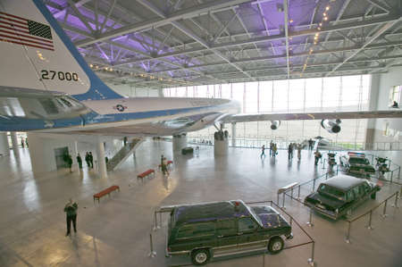 boeing 747: All'interno della Air Force One Padiglione Ronald Reagan Presidential Library and Museum, Simi Valley, CA