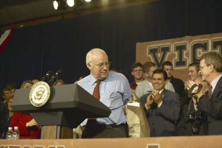 attended: Campaign rally in Ohio attended by Vice Presidential candidate Dick Cheney, 2004