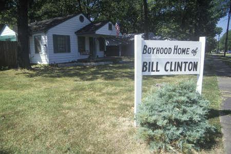 chłopięctwo: Dzienny dom Billa Clintona w Hope, Arkansas Publikacyjne