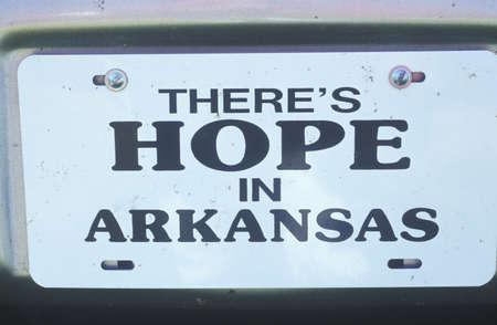 ヘンプステッド郡、アーカンソー州の希望の都市のための町に署名