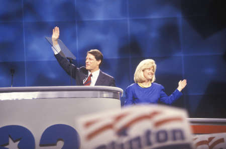 Senator Al Gores speech at the 1992 Democratic National Convention at Madison Square Garden