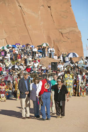 83rd: Exchange  between Senator and Mrs. John Kerry with Intertribal Council President, Gallup, NM Editorial