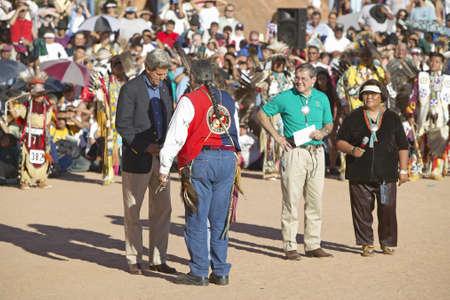 senator: Exchange  between Senator John Kerry with Intertribal Council President, Gallup, NM