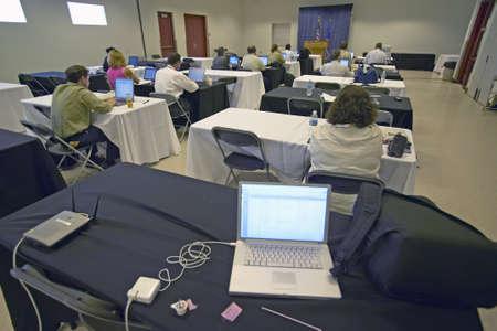 centers: Filing center for national press core, Henderson, NV
