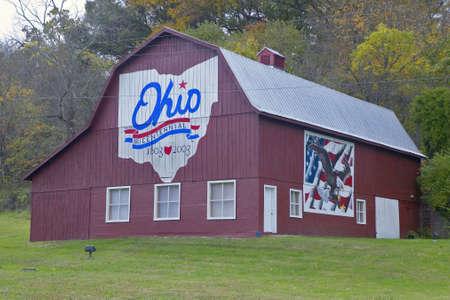 Bicentennial barn in rural southern Ohio