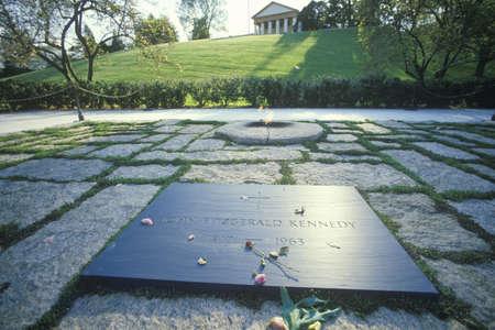 jfk: Tomb of President John F. Kennedy,  Arlington Cemetery, Washington, D.C.