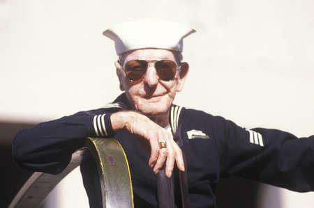 WWII Veteran, Veterans Day Parade, St. Louis, Missouri