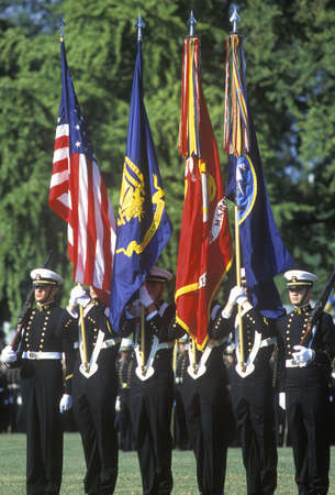 Midshipmen Color Guard, United States Naval Academy, Annapolis, Maryland