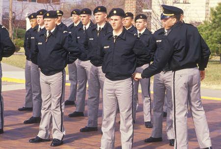 berets: Young Cadets, St. Johns Military School, Salina, Kansas Editorial