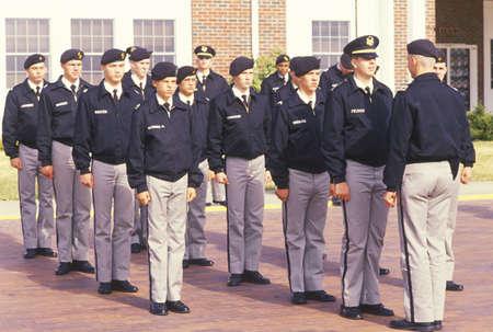 Young Cadets, St. Johns Military School, Salina, Kansas Editorial