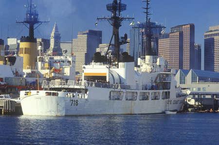 guard ship: United States Coast Guard Ship, Boston Harbor, Massachusetts