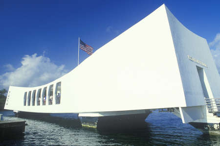 USS Arizona Memorial Museum, Pearl Harbor, Oahu, Hawaii