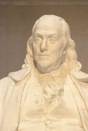 Benjamin Franklin Memorial, Franklin Institute, Philadelphia, Pennsylvania Redactioneel