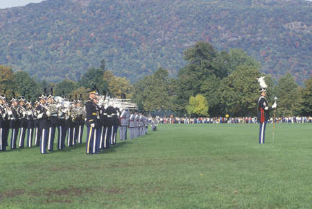 Homecoming Parade, West Point Military Academy, West Point, New York Editorial