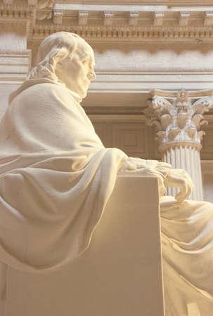 Benjamin Franklin Memorial, Franklin Institute, Philadelphia, Pennsylvania Stockfoto - 20713119
