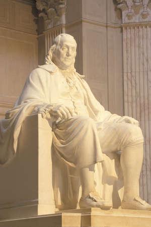 franklin: Benjamin Franklin Memorial, Franklin Institute, Philadelphia, Pennsylvania Editorial