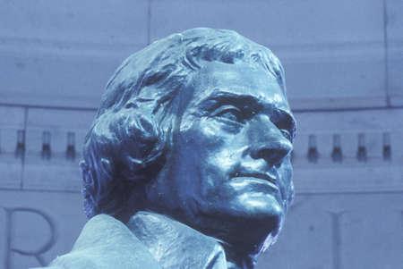founding: Sculpture of Thomas Jefferson, Washington D.C.