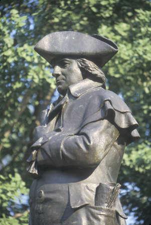 morris: Statua di Robert Morris, Padre fondatore e firmatario della Dichiarazione d'Indipendenza