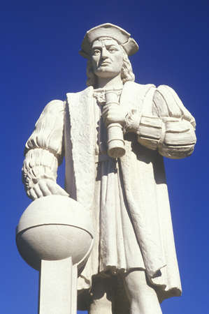 christopher: Christopher Columbus statue, Westerly, CT Editorial
