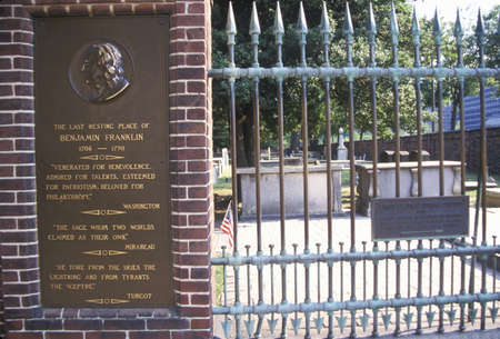 franklin: Tomb of Benjamin Franklin Editorial