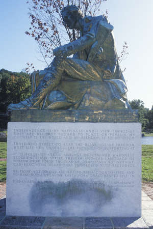 common sense: Statue of Thomas Paine, author of Common Sense, Morristown, New Jersey Editorial