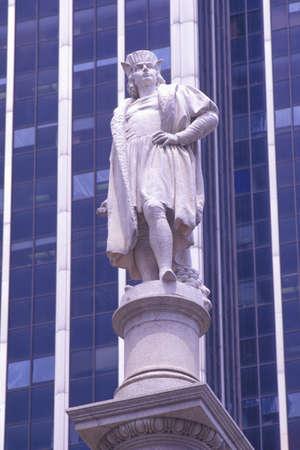 christopher columbus: Statue of Christopher Columbus, New York, NY
