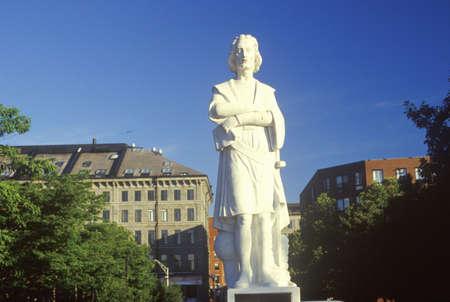 christopher: Statue of Christopher Columbus, Boston, Massachusetts