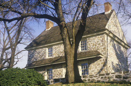 pa: George Washingtons house at Valley Forge, PA Editorial