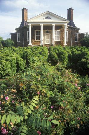 Thomas Jeffersons personal retreat, Poplar Forest, Lynchburg, Virginia