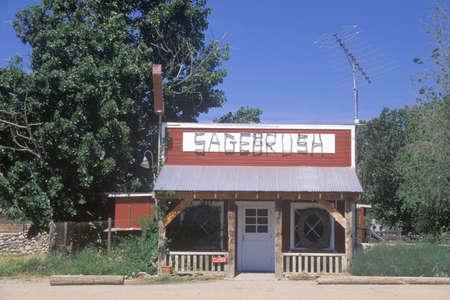 sagebrush: Sagebrush Cafe near Taft, CA