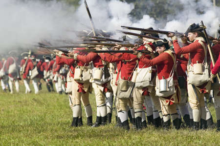 commemoration: Re-enactment of Attack on Redoubts 9 & 10 where the major infantry action of the siege of Yorktown took place.  General Washingtons armies captured two British fortifications, Endview Plantation (circa 1769), near Yorktown Virginia.  Part of the 225th an